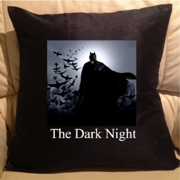 The dark night, sofa cushions
